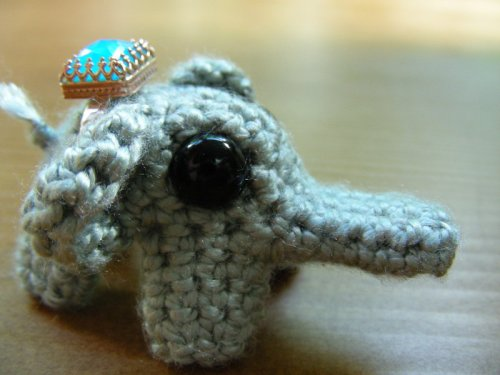Amigurumi Magische Ring : Ring Holder or Elephant Amigurumi? Make: