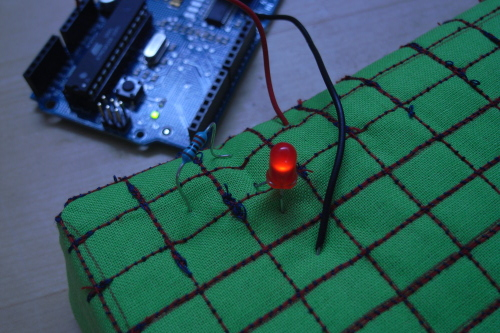 Soft bread board creates a kinder gentler circuit | Make: