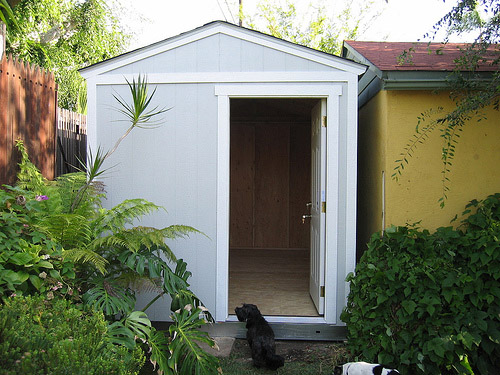 Convert your shed into an office Make