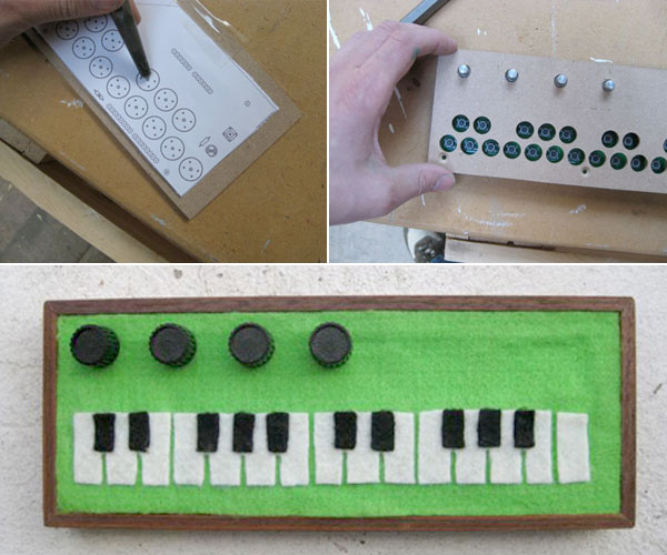 HOW TO - Build an enclosure for the Arduino Pocket Piano | Make: