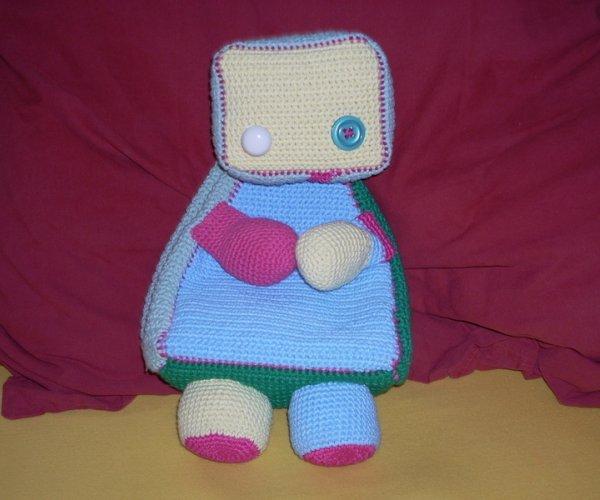 cute robot bag
