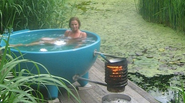 Bathtub Hottub Outdoor Baths