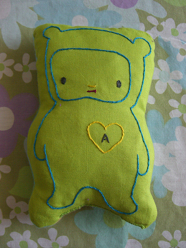 green love bear