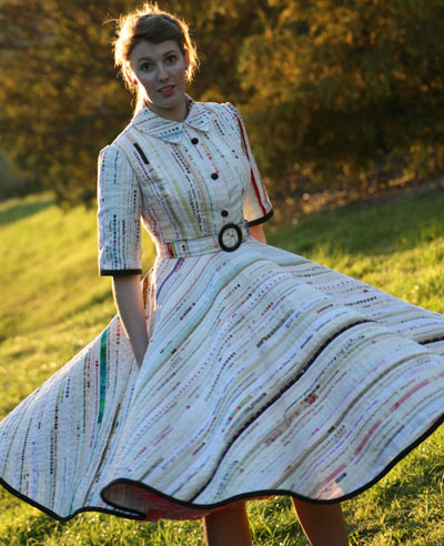 ric rac selvedge dress