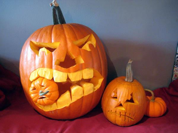 recycle a pumpkin
