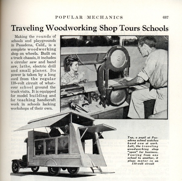 Woodworking Tours