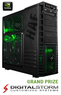First prize Nvidia modification station contest