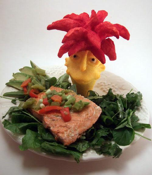Sideshow Bob Salmon Salad