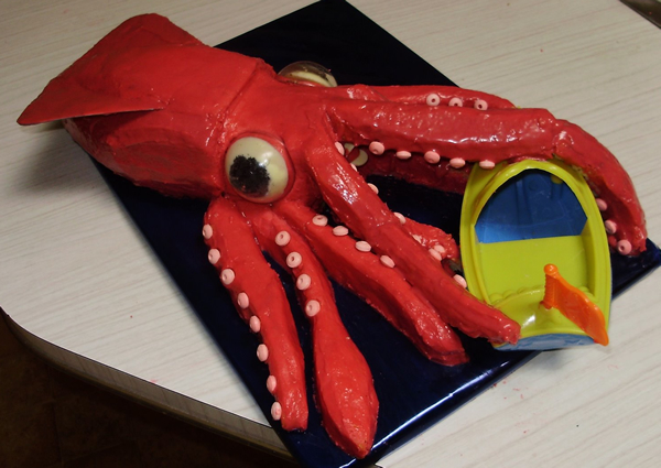 How To Cook Big Calamari
