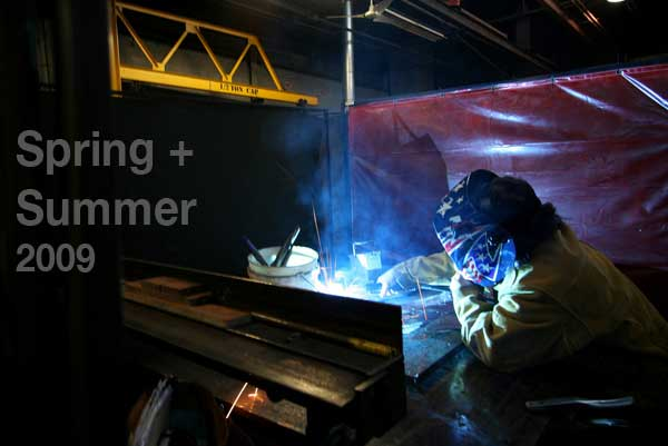 Steel Yard Spring and Summer Courses