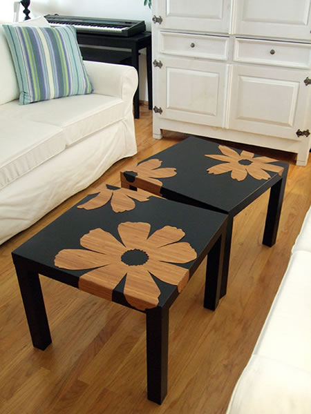 Bamboo_Veneer_Flowers_Ikea_tables