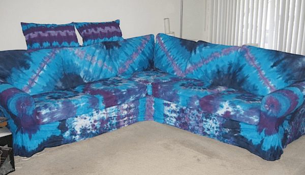 Tie Dyed Couch Make