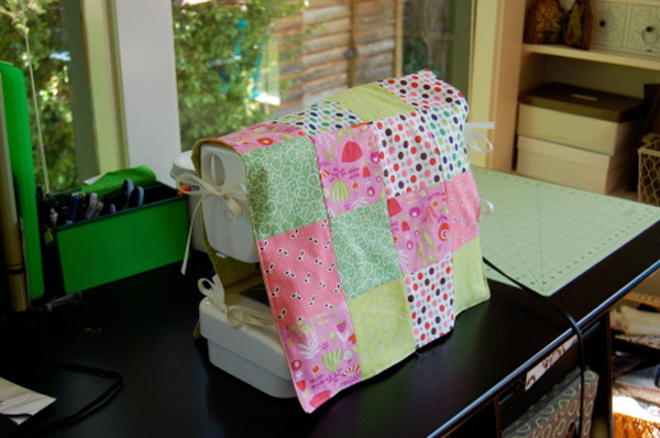 Patchwork Sewing Cover