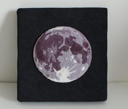 Punchneedle Moon1