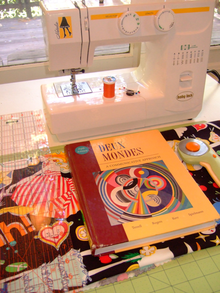 Book Cover Sewing Supplies ~ How to sew a simple fabric book cover make
