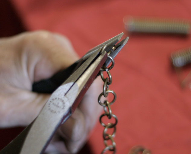 how to make chainmail rings