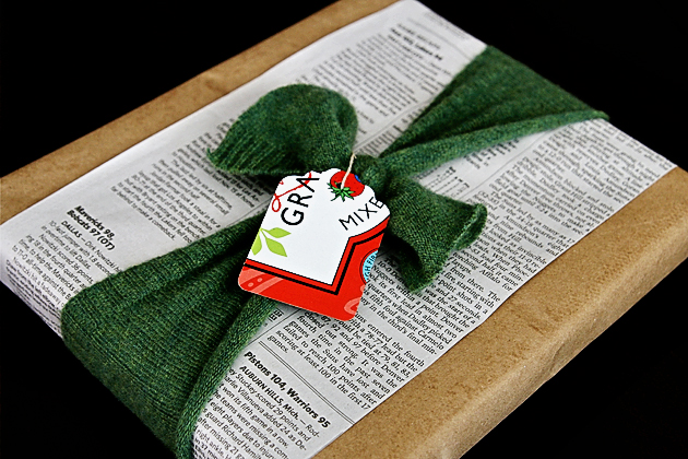 Upcycled Gift Wrapping Final