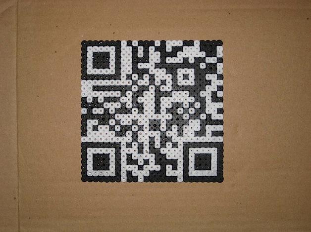Perler Bead QR Codes | Make: