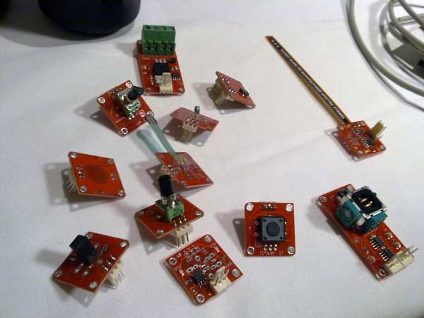 TinkerKit Components