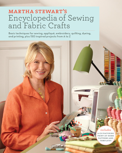 Martha Stewart Fabric Book Cover : Book giveaway martha stewart s encyclopedia of sewing and