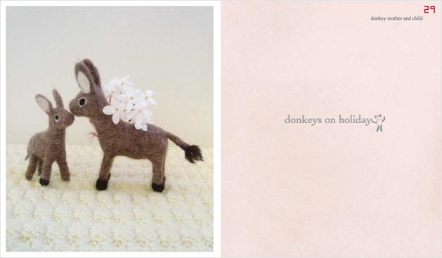 Feltbook Donkey