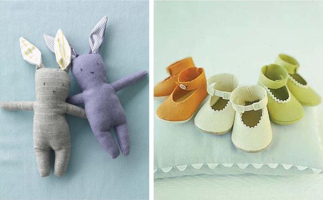 Msbook Bunnies Babyshoes
