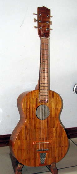 How To Popsicle Stick Guitar Make