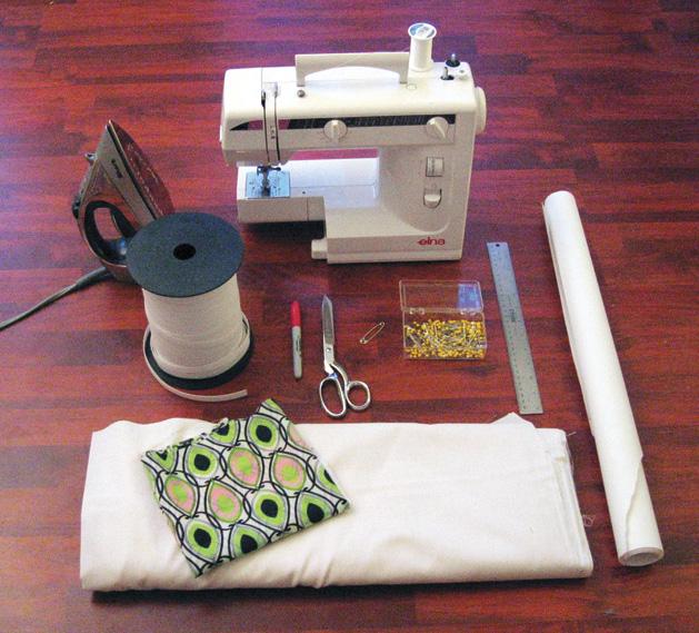 Ruffledress Materials