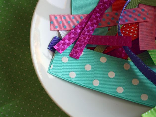 Tag Happy Baby Blanket Step4