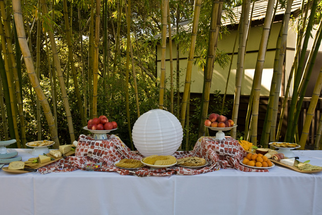 Caitlinwedding Fooddisplay