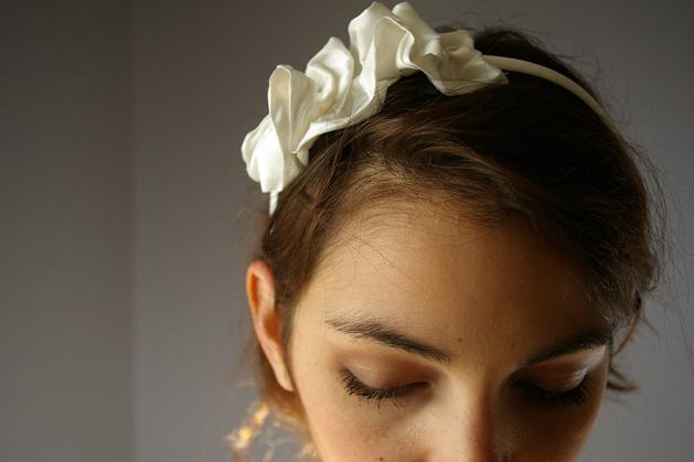 Silkruffle Headband