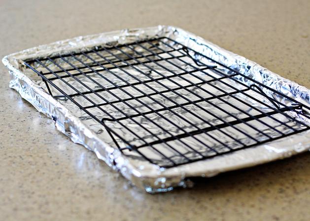 Kitchen101 Bacon Coolingrackonpan