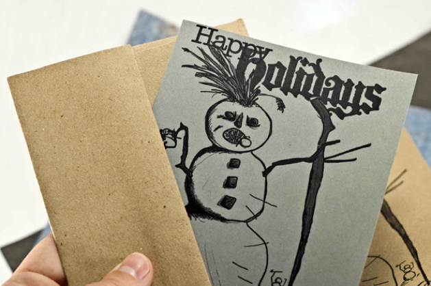 Craftleftovers Holidaycard