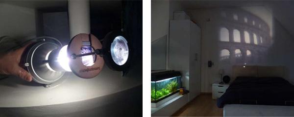 Photo slide projector