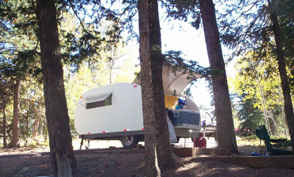 Karts and Wheels Contest Teardrop Camper Trailer