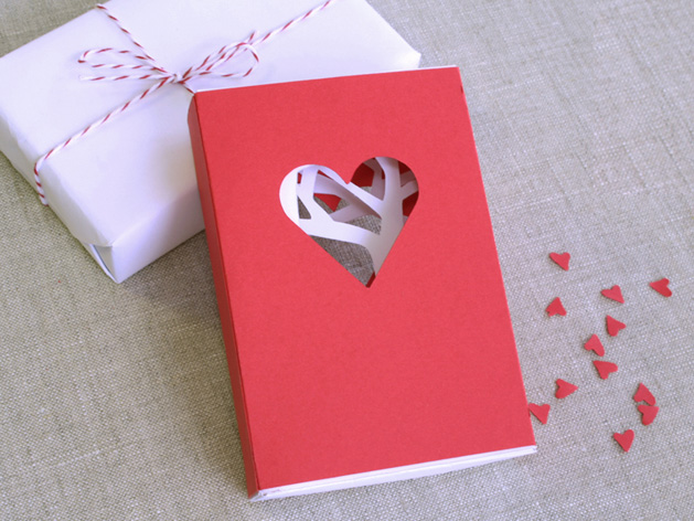 how-to: valentine's day matchbook card | make:, Ideas