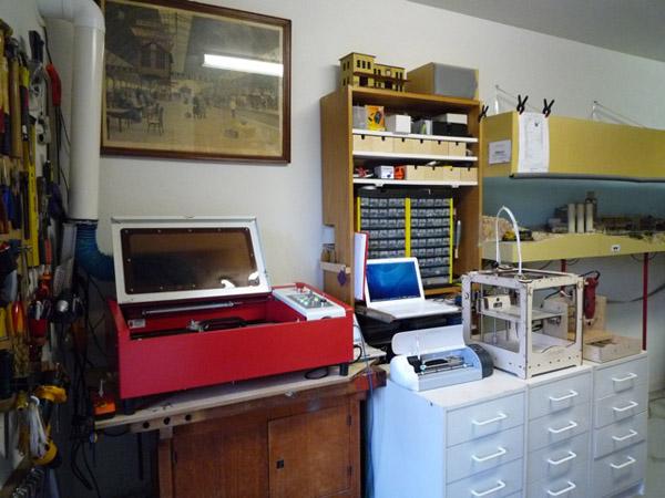 Mini Home Fab Lab For Around 4000 Make