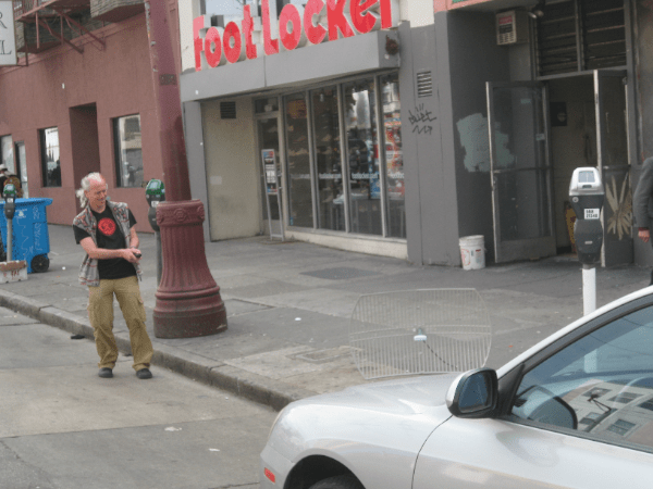 Altman demonstrates the Car-B-Gone