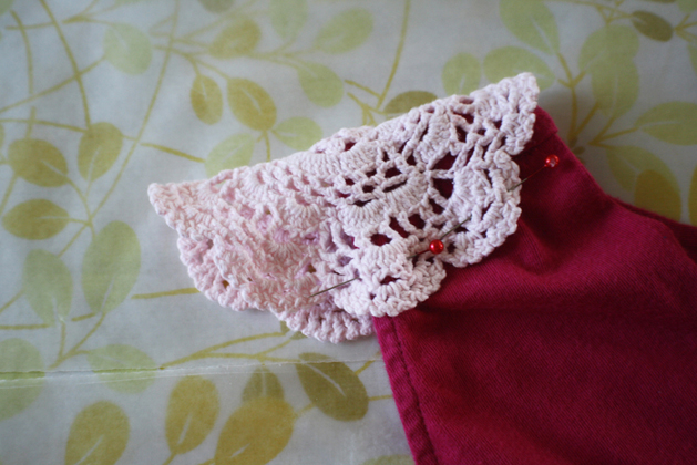 Spring Doily Top Step6