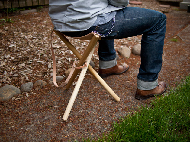 Diy Folding Tripod Camp Stool Make