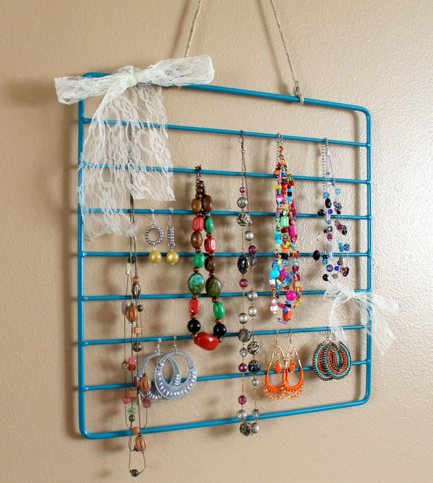 How To Oven Rack to Jewelry Rack Make