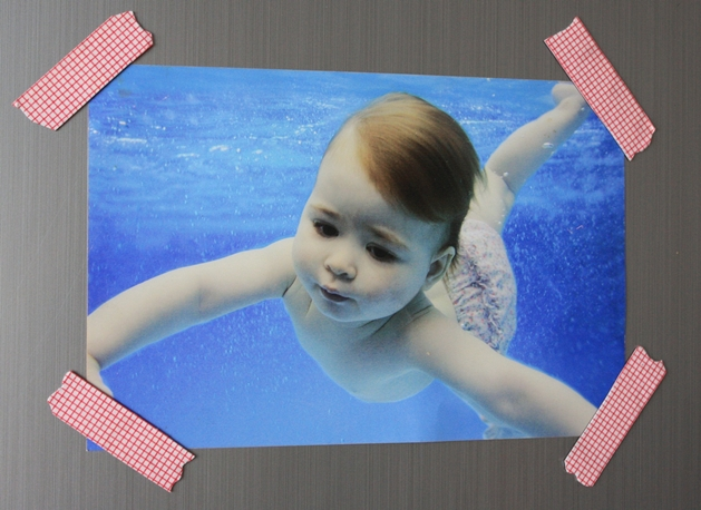 Photo of underwater baby with washi tape magnets - 629px.JPG