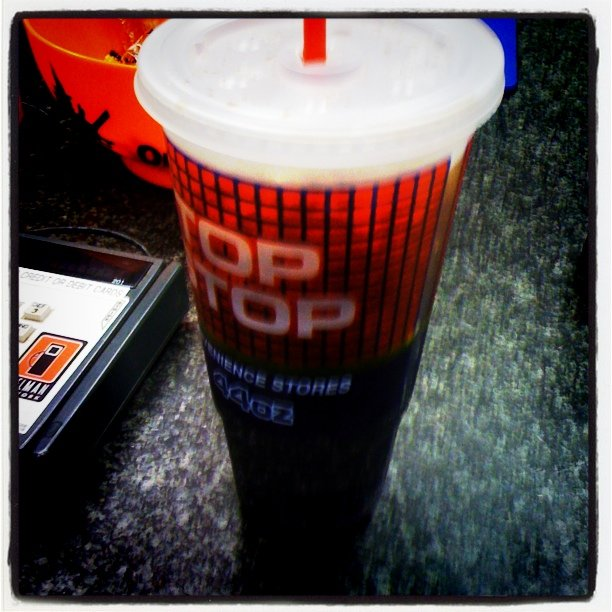 Dr. Pepper from Top Stop