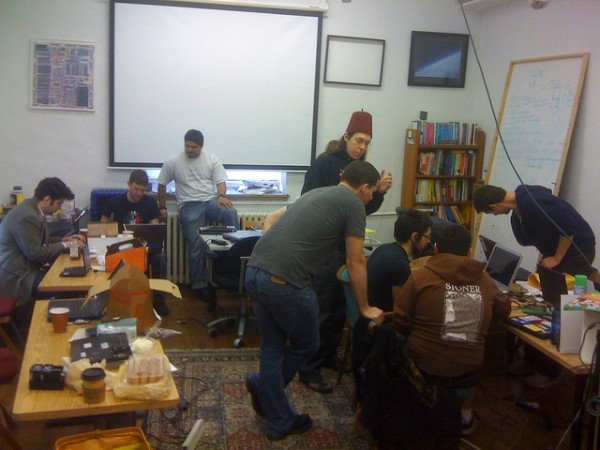 Project Byzantium team working