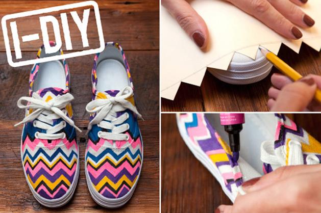 R29 DIY MIssoni chevron shoes-3.jpg.jpg