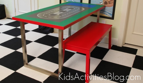 How-To: Big Kid Lego Table IKEA Hack | Make: