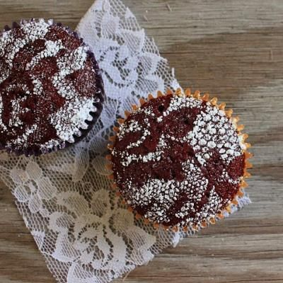 lace stenciled cupcakes.JPG