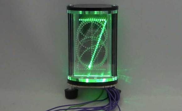 Edge-lit LED Nixie Tube Style Display | Make: