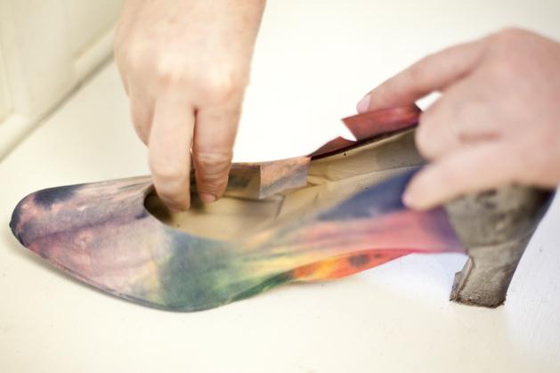 Back Of Shoe Cuts Into Heel