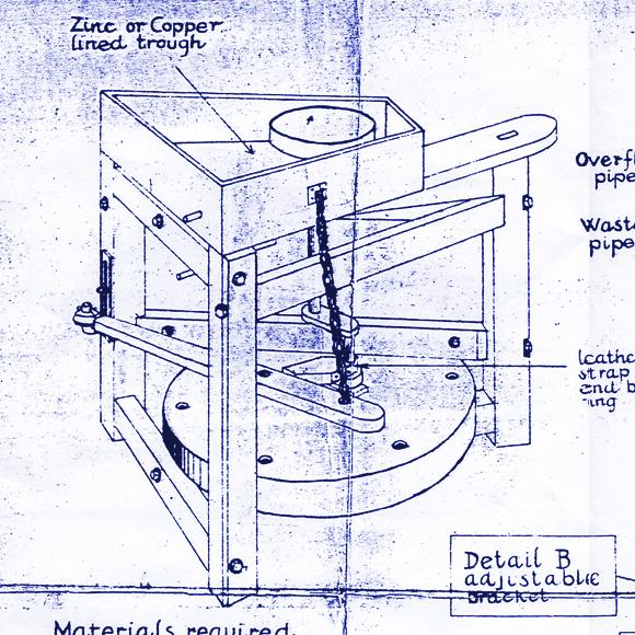 The Leach Treadle Wheel   Make:
